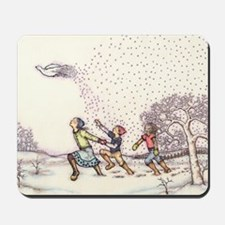 Snowbird - Card Mousepad