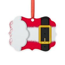 Merry Christmas Pillow Case Ornament