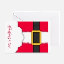 Merry Christmas Pillow Case Greeting Card