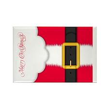 Merry Christmas Pillow Case Rectangle Magnet
