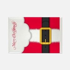 Merry Christmas Pillow Case Rectangle Magnet