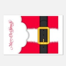 Merry Christmas Pillow Ca Postcards (Package of 8)