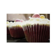 Easter Cupcakes Rectangle Magnet