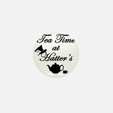 Tea Time at Hatters Mini Button