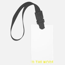 Please Feed the Models Luggage Tag