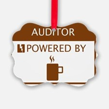 Auditor Powered by Coffee Ornament