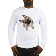 High angle view of French bull Long Sleeve T-Shirt