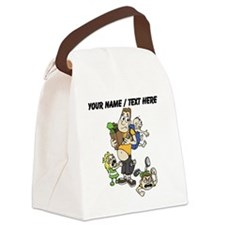Custom Stay At Home Dad Canvas Lunch Bag