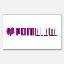 Pom Mom 2 Rectangle Decal