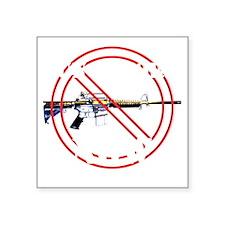 "GUN REFORM NOW B Square Sticker 3"" x 3"""