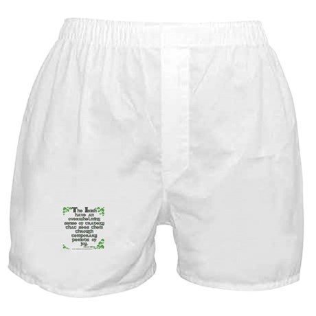 Funny Oscar Wilde Quote Boxer Shorts