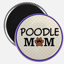 Poodle Dog Mom Magnets