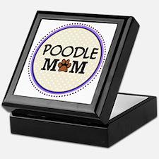 Poodle Dog Mom Keepsake Box