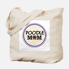 Poodle Dog Mom Tote Bag