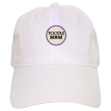 Poodle Dog Mom Baseball Baseball Cap