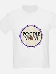 Poodle Dog Mom T-Shirt