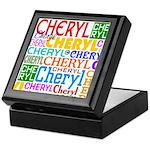 Tile-topped Treasure Box for Cheryl