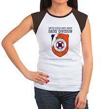 USCG DADS DIVISION Women's Cap Sleeve T-Shirt