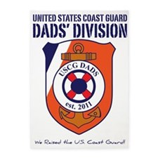 USCG DADS DIVISION 5'x7'Area Rug