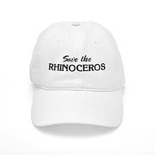 Save the RHINOCEROS Baseball Cap