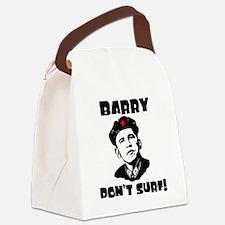 BDS_Black Canvas Lunch Bag