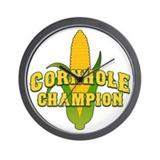Cornhole Champion Wall Clock