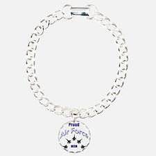 Proud Air Force MOM Bracelet