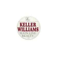 Keller Williams Mugs Mini Button