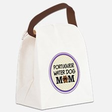 Portuguese Water Dog Mom Canvas Lunch Bag