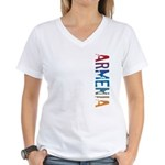 Armenia Women's V-Neck T-Shirt