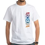 Armenia White T-Shirt