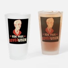 ron-paul-lover-TIL Drinking Glass