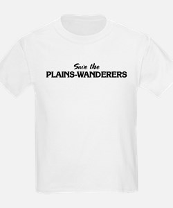 Save the PLAINS-WANDERERS Kids T-Shirt