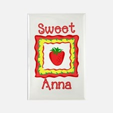 Sweet Anna Rectangle Magnet