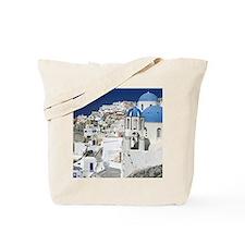 Island of Santorini - Greece Tote Bag