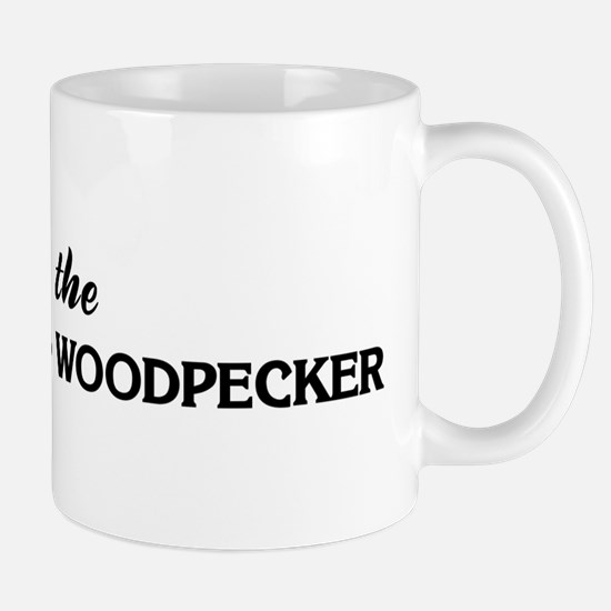Save the RED-COCKADED WOODPEC Mug