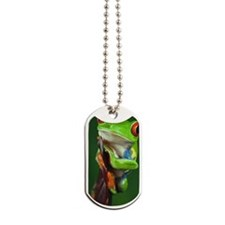Red-eyed Tree Frog. Dog Tags