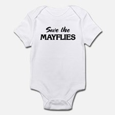 Save the MAYFLIES Infant Bodysuit