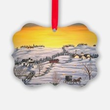 Amish in Lancaster County Pennsyl Ornament