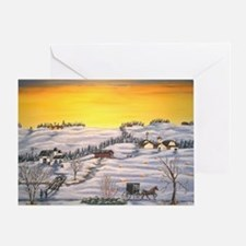 Amish in Lancaster County Pennsylvan Greeting Card