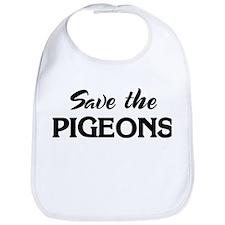Save the PIGEONS Bib