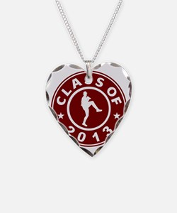 Class Of 2013 Baseball Pitche Necklace