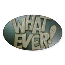 whatever surplus  Decal