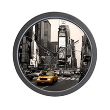 Time Square Taxi Wall Clock