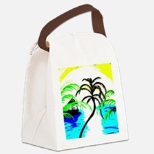 Paradise Ocean View Canvas Lunch Bag