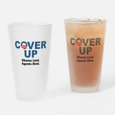 Cover Up Drinking Glass