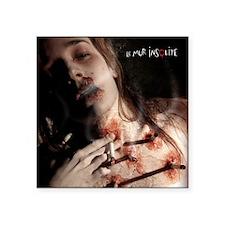 "Intervention - Sonia (carré Square Sticker 3"" x 3"""