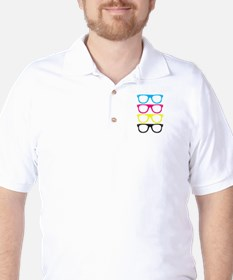 CMYK glasses - Life in color T-Shirt