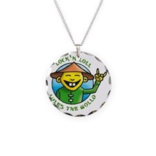 lock and loll lules the wold Necklace Circle Charm