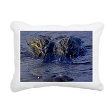 George The Alligator Rectangular Canvas Pillow